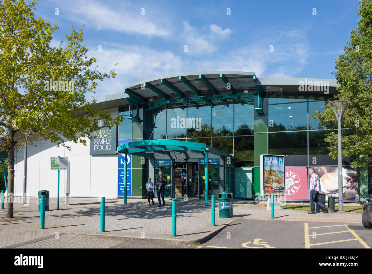 Winchester M3 Motorway Services, Winchester, Hampshire, England, United Kingdom - Stock Image