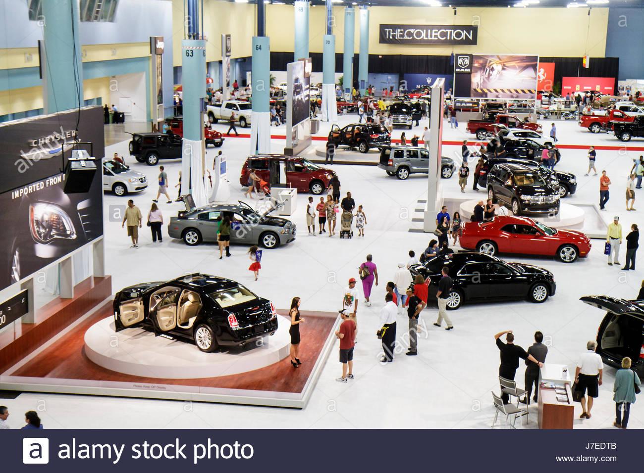 Miami Auto Show >> Miami Beach Miami Florida Beach Convention Center Centre South Stock