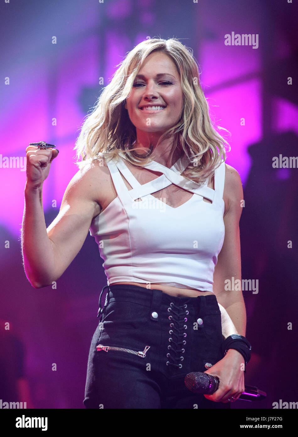Munich Germany 24th May 2017 Exclusive German Singer Helene Stock Photo Alamy