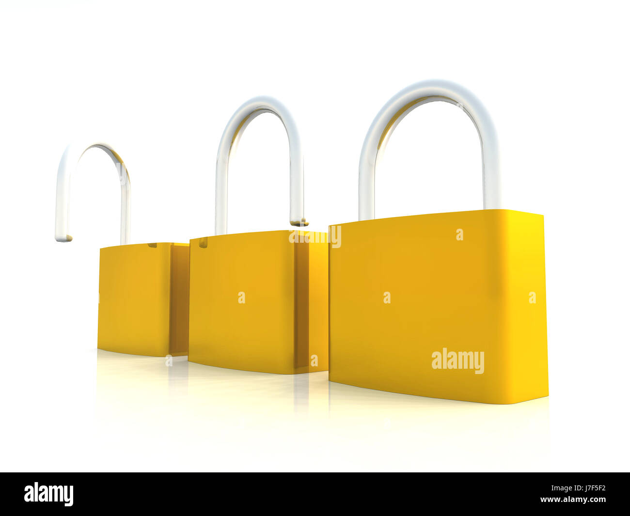 concept - from safe to unsafe 02 - Stock Image