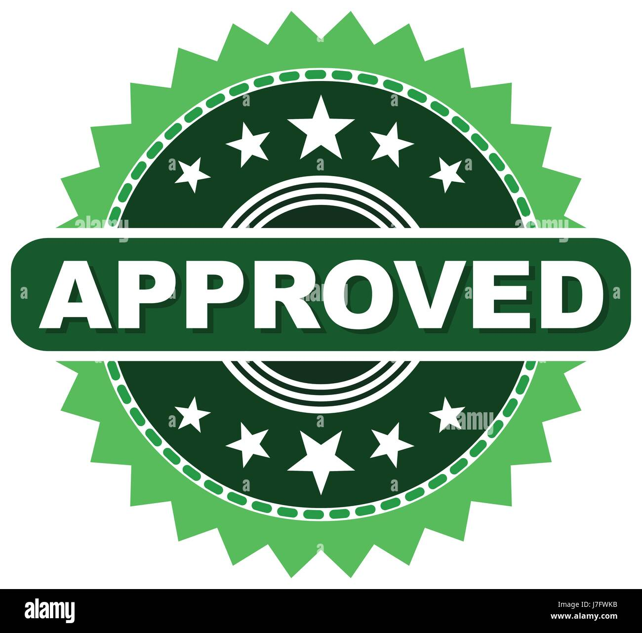 seal of approval stock vector images alamy