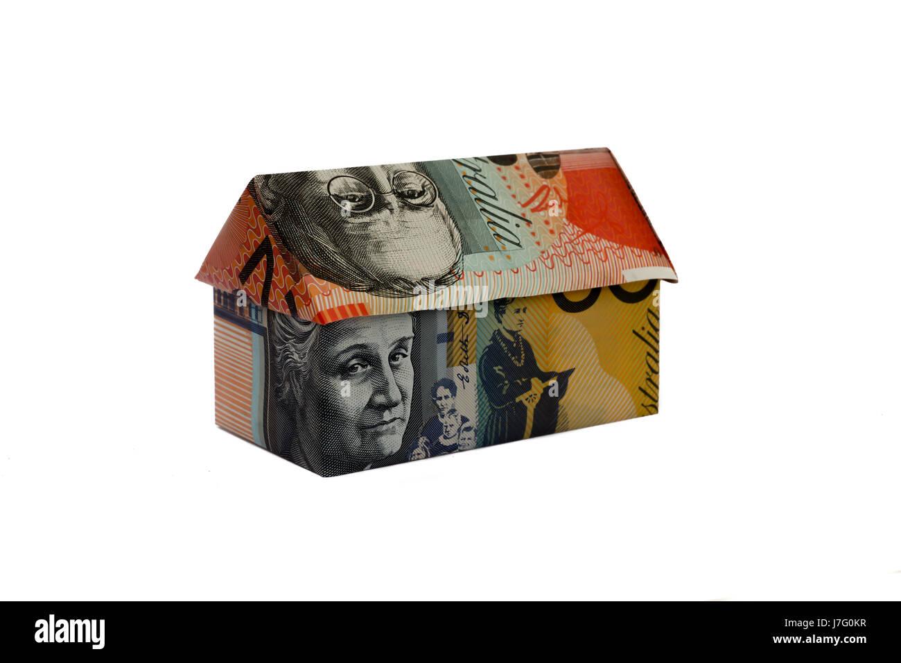 Australian Money House - Stock Image