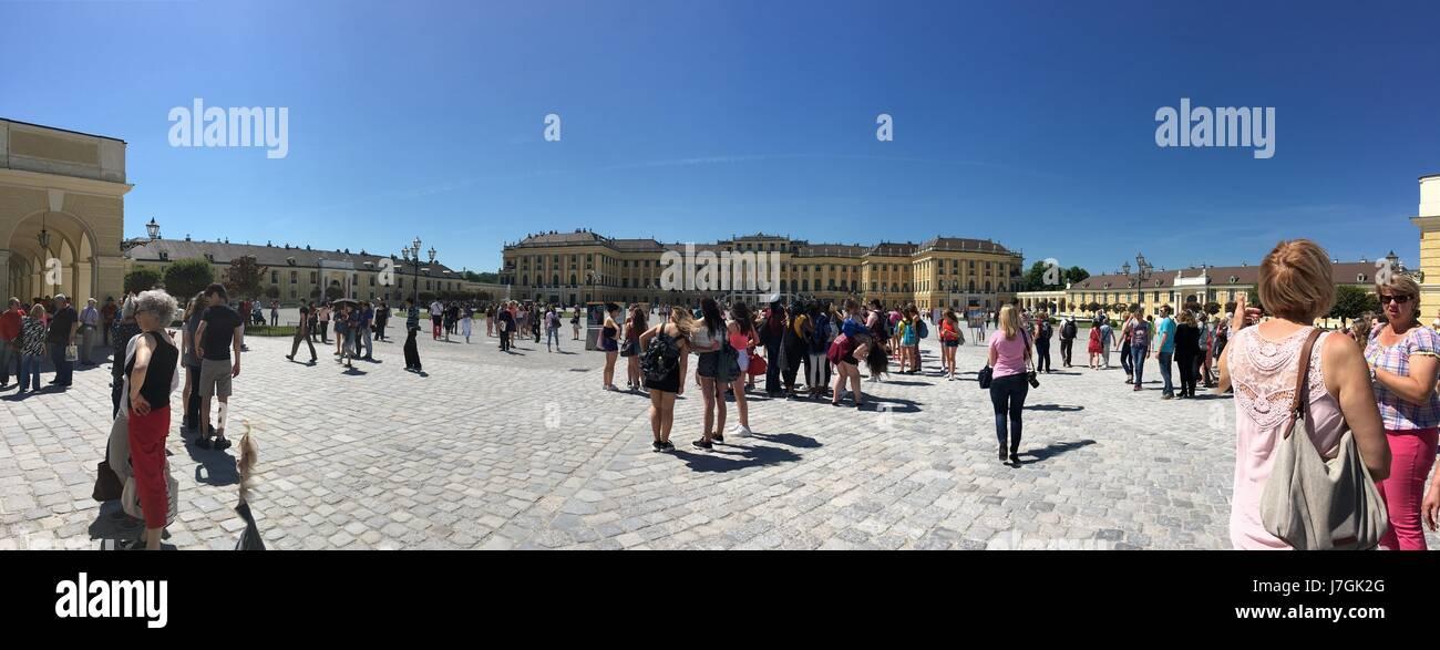 Schönbrunn Palace, Vienna, Austria - Stock Image