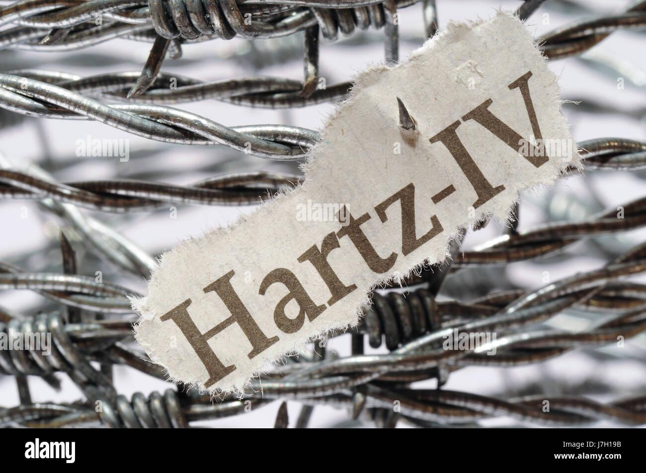 hartz iv - Stock Image
