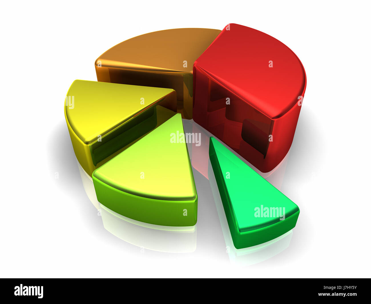 chart cake pie cakes bright shiny metallic colored diagram