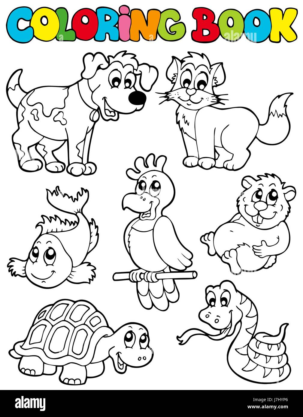 My Coloring Book: Animals Download