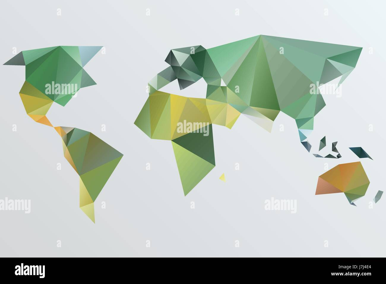 Triangle world map vector illustration stylize world map triangle world map vector illustration stylize world map technology concept gumiabroncs Gallery