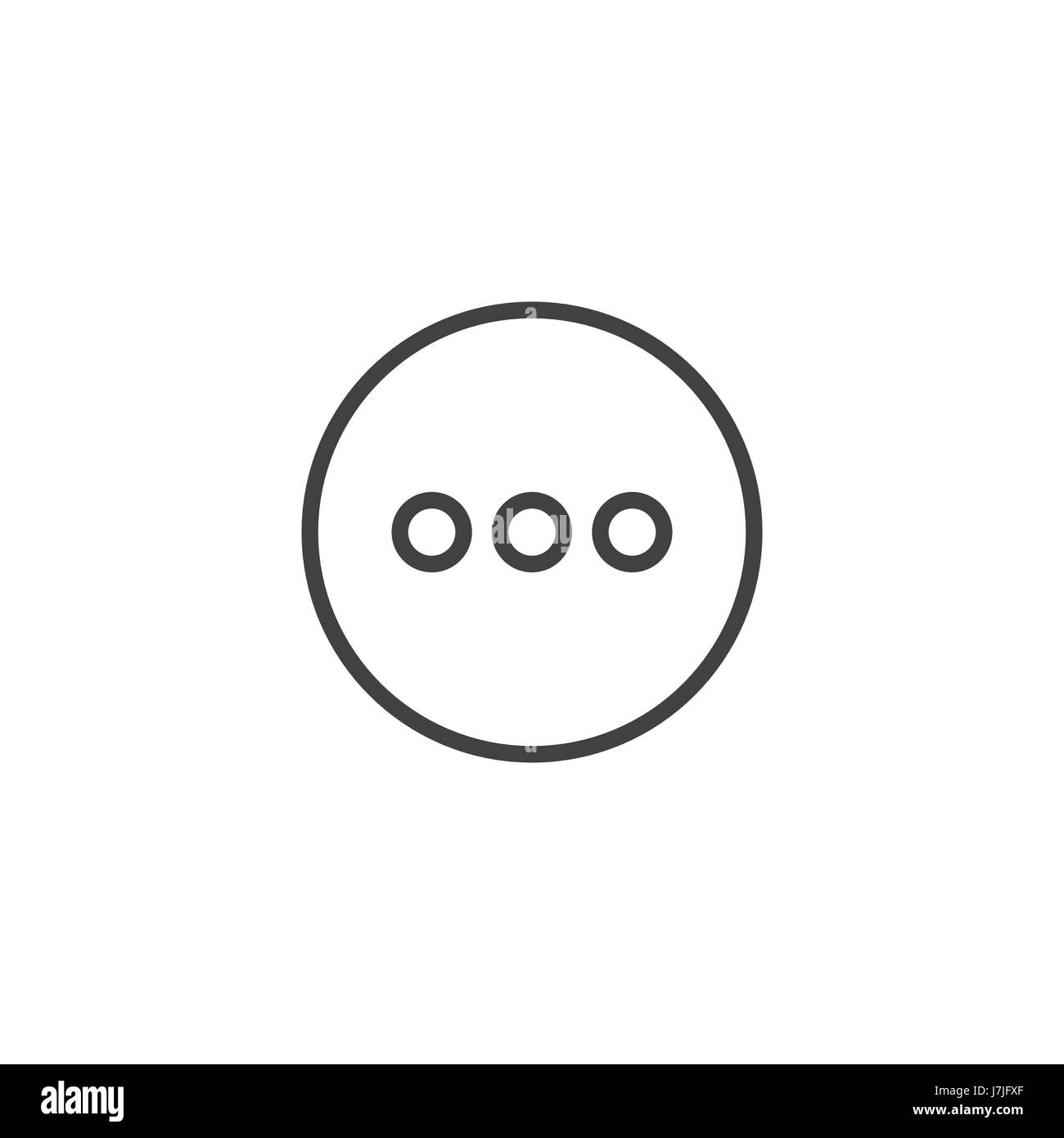 Load more icon - Thinking or Loading Icon - Stock Image