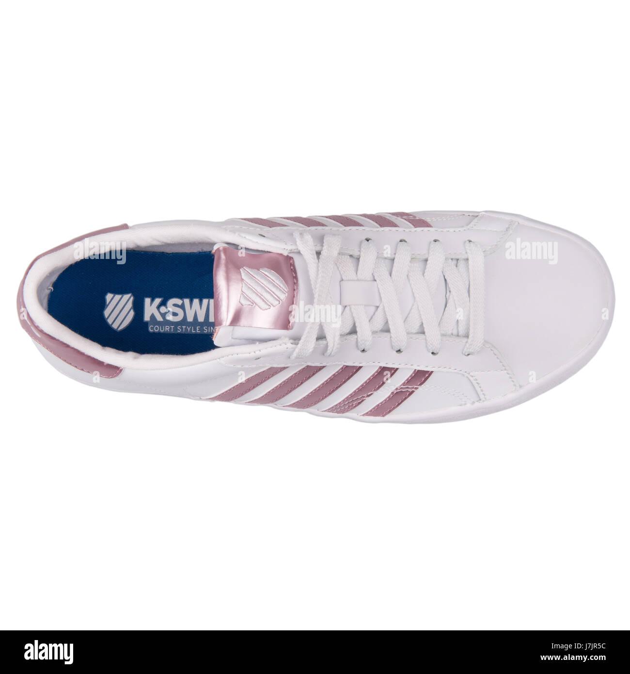 K-Swiss Belmont SO White Pink Women's