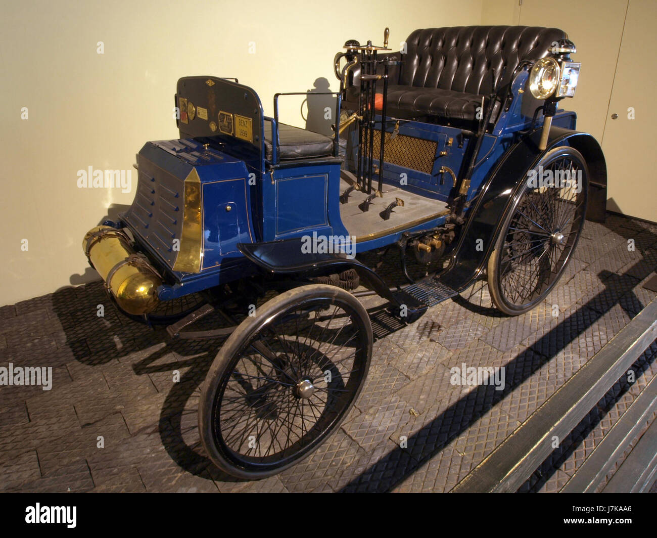 1899 Benz 6 HP Ideal - Stock Image