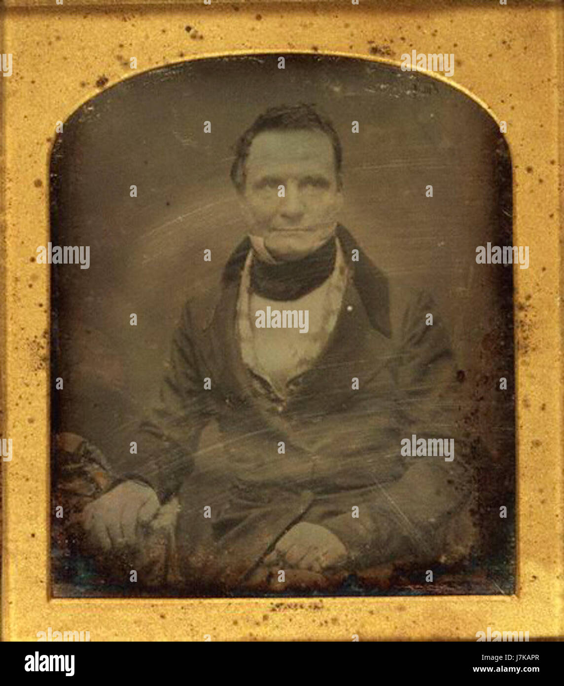 Charles Babbage by Antoine Claudet - Stock Image