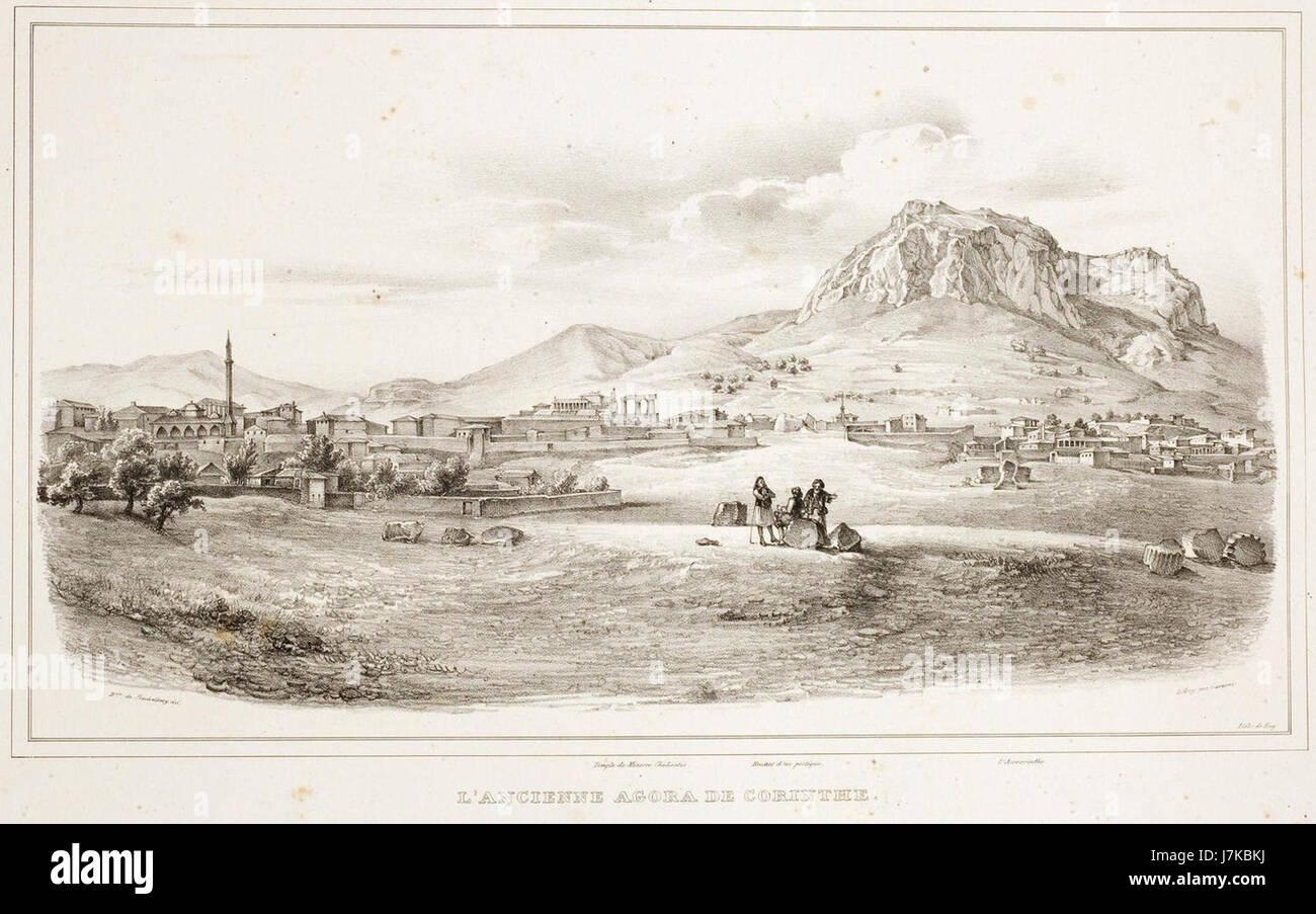 Corinth 1810's - Stock Image