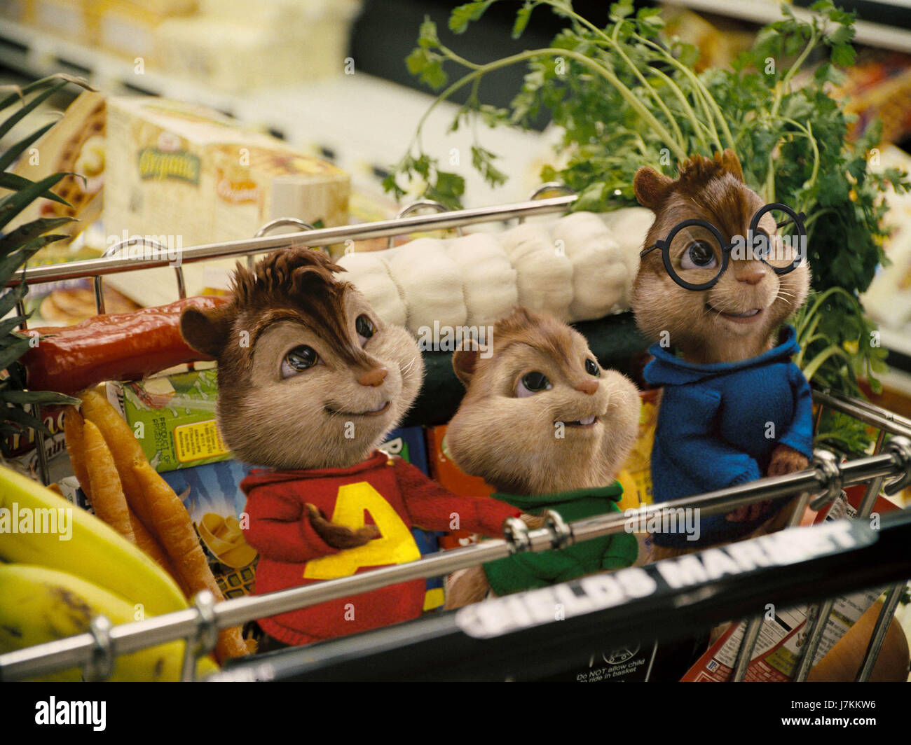ALVIN AND THE CHIPMUNKS (2007)  TIM HILL (DIR)  20TH CENTURY FOX/MOVIESTORE COLLECTION LTD - Stock Image