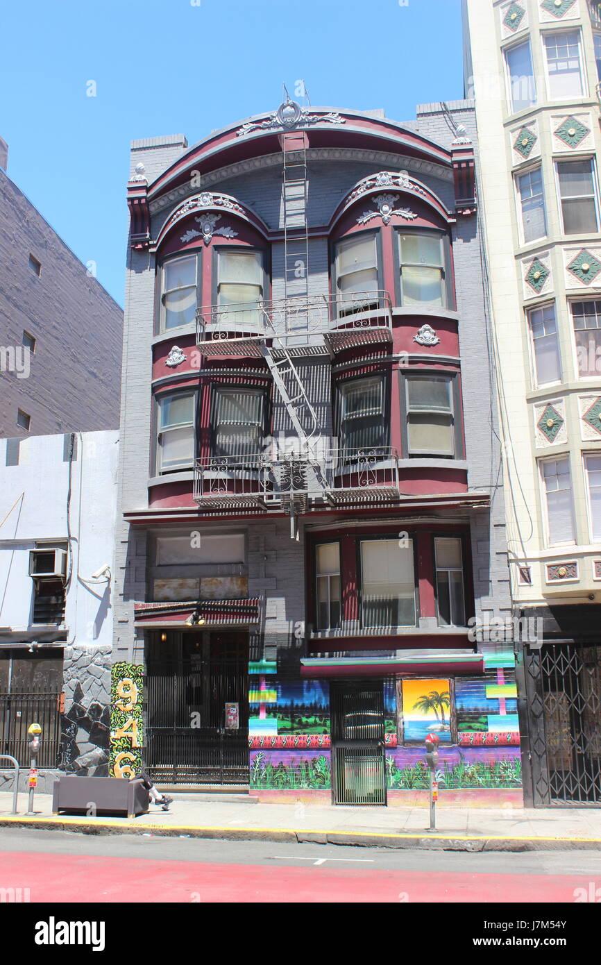 San Francisco Apartment: Tenderloin San Francisco Stock Photos & Tenderloin San
