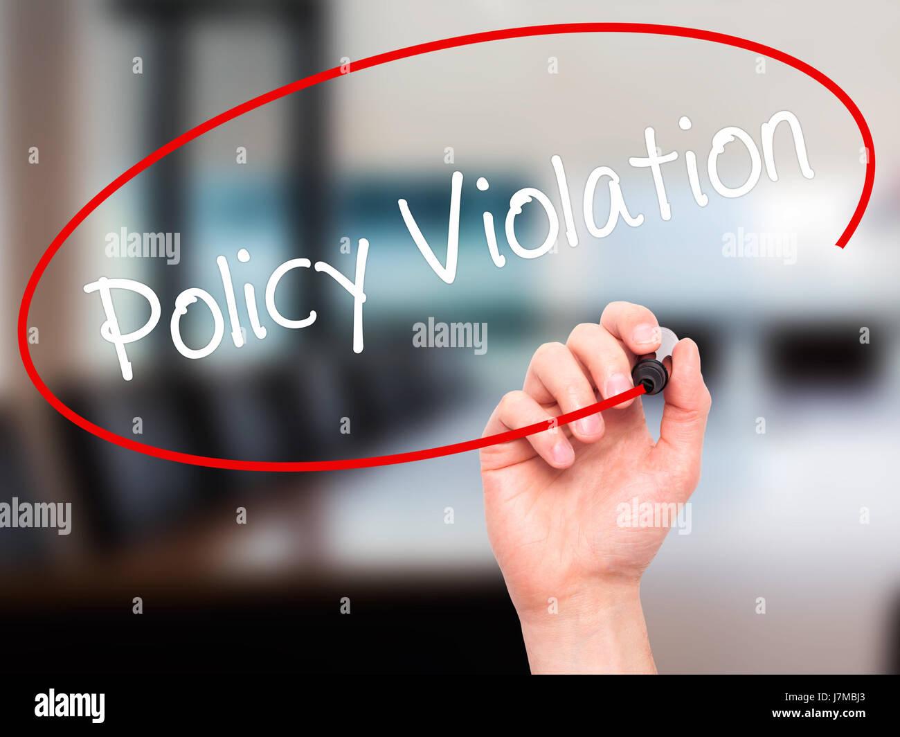 policy violation
