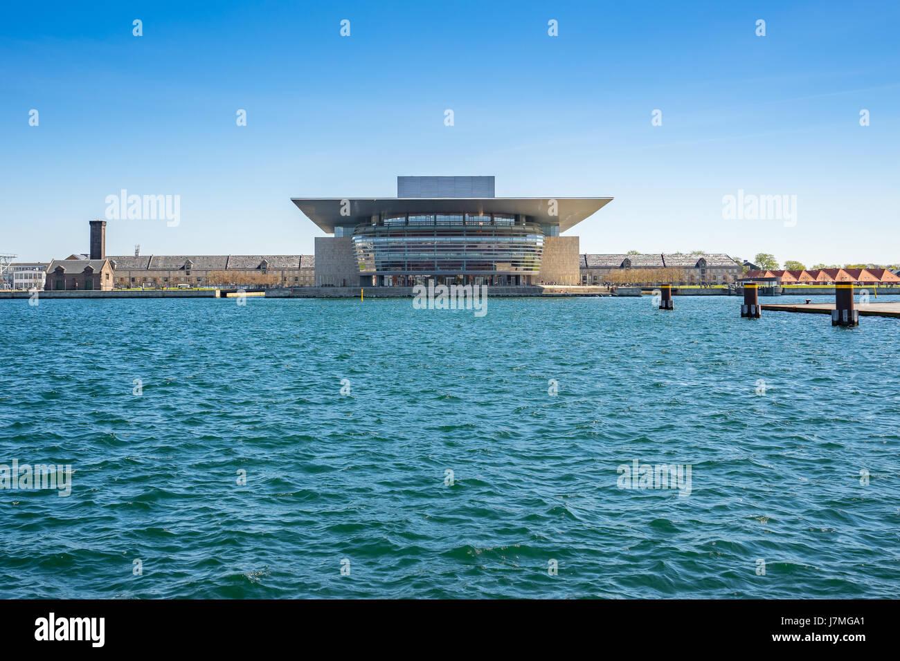 Opera house of Copengagen in Denmark. - Stock Image