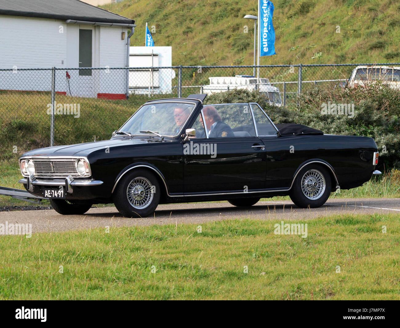 1968 Ford Cortina 1600 Super Automatic Stock Photo