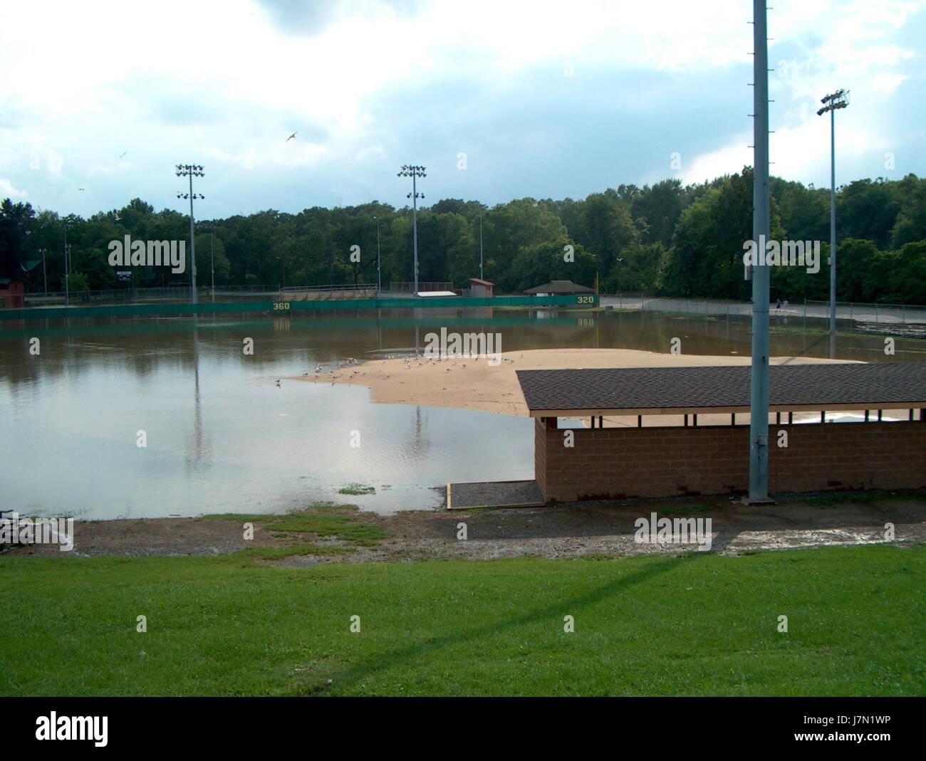 2003 Mahoning flood 3 - Stock Image