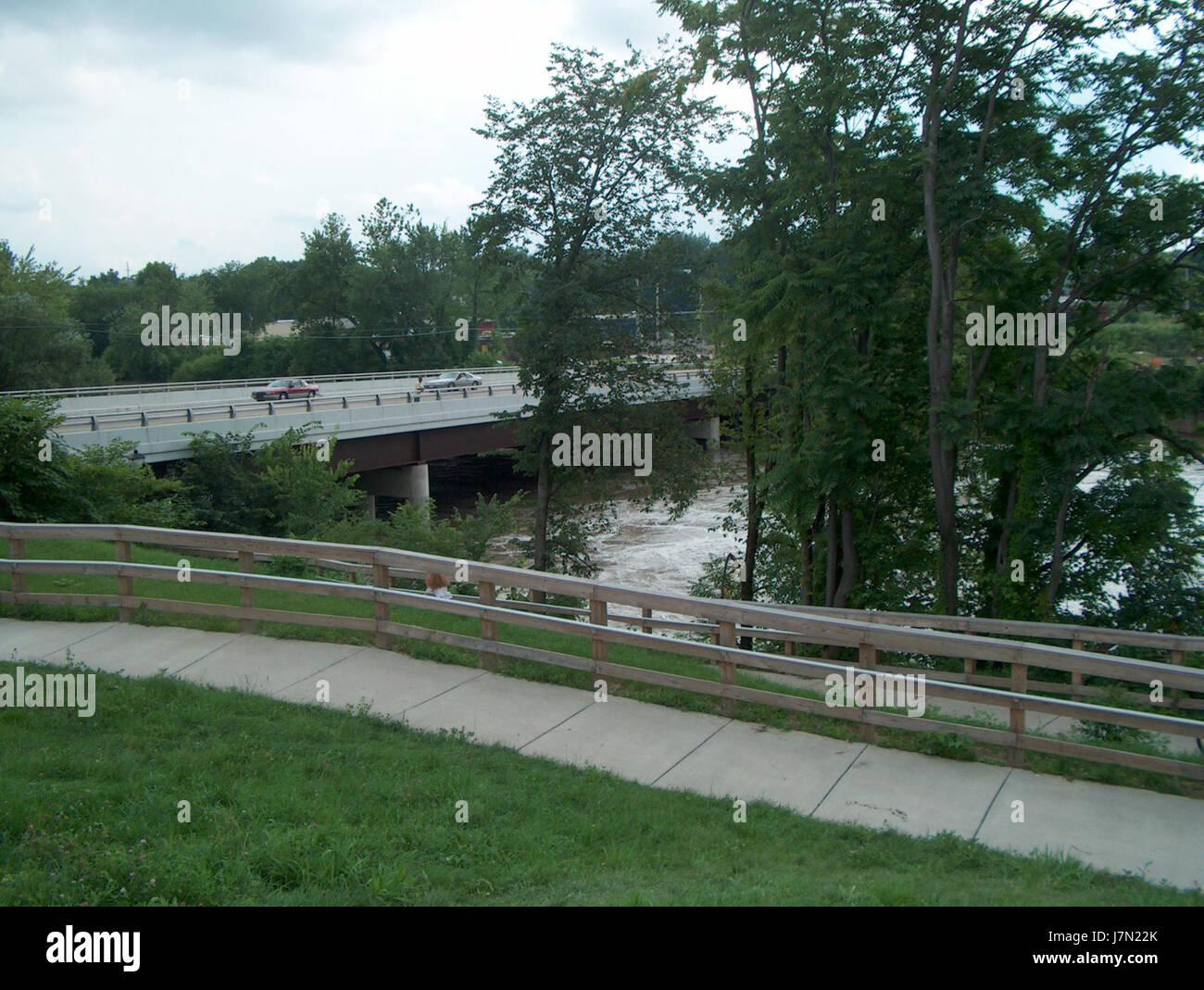 2003 Mahoning flood 4 - Stock Image