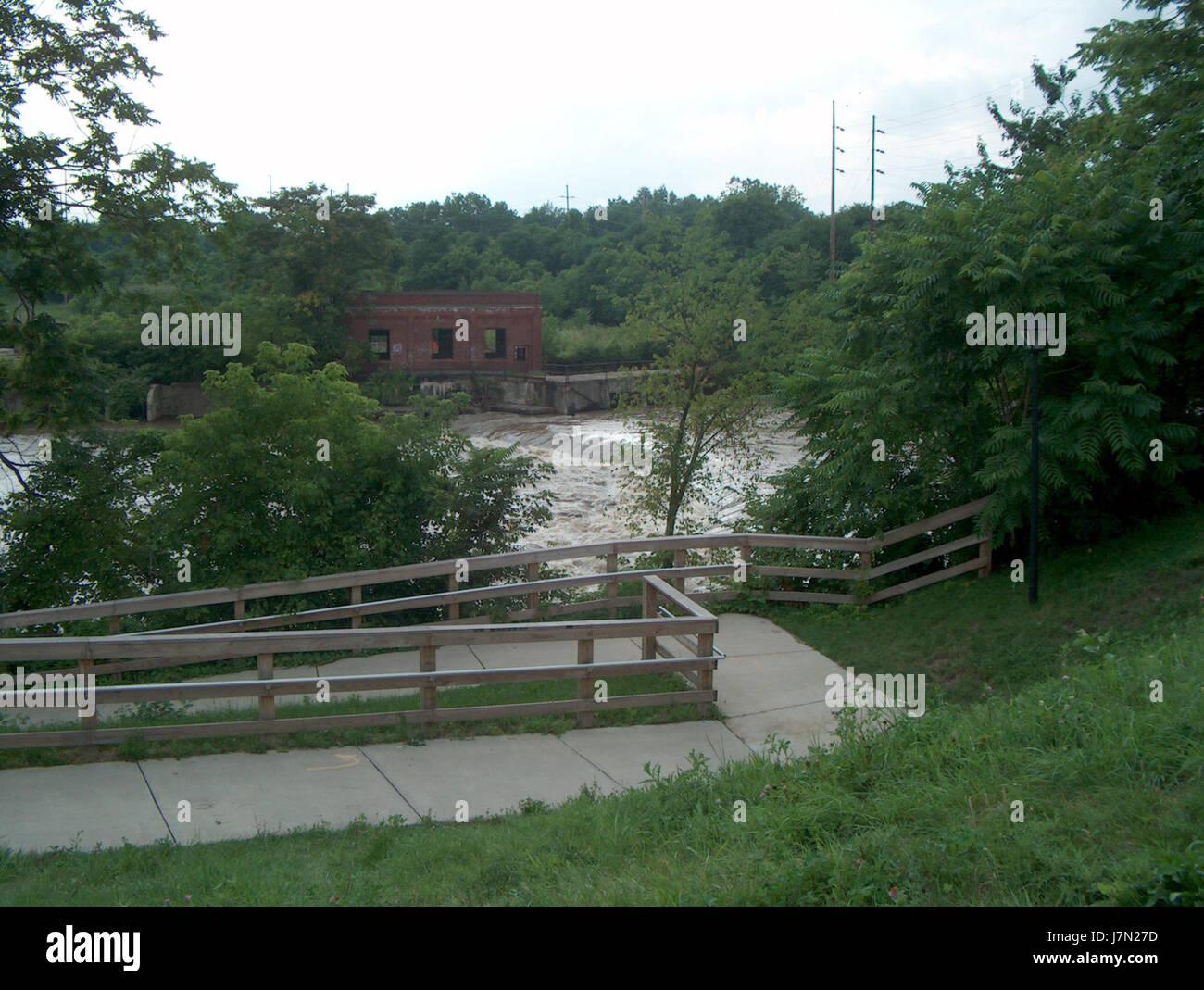 2003 Mahoning flood 5 - Stock Image
