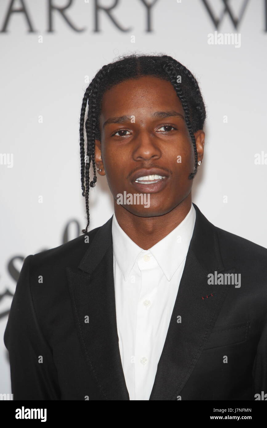 2a830dccdee ASAP Rocky arrives at the amfAR Gala during the 70th Annual Cannes Film  Festival at Hotel du Cap Eden-Roc in Cap d Antibes