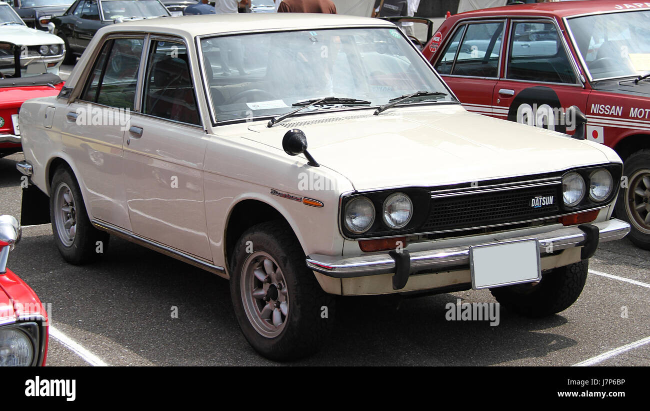 1971 Datsun Bluebird Sedan 1600 SSS Stock Photo