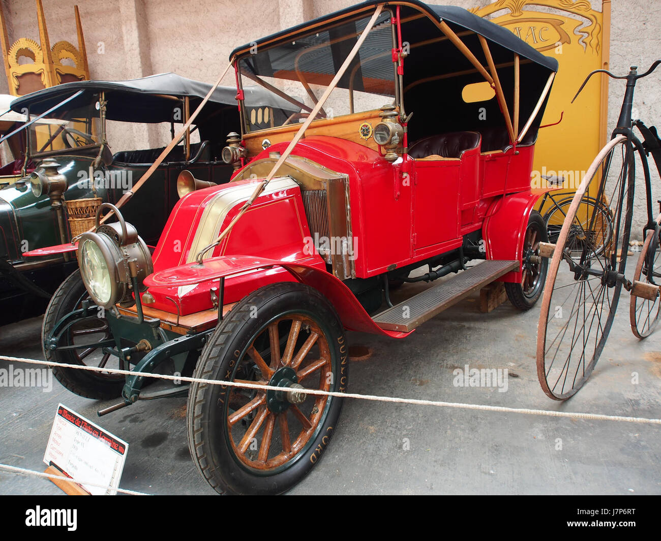 1910 Renault AX, 2 cylinders, 1060 cm3, 6cv pic5 Stock Photo