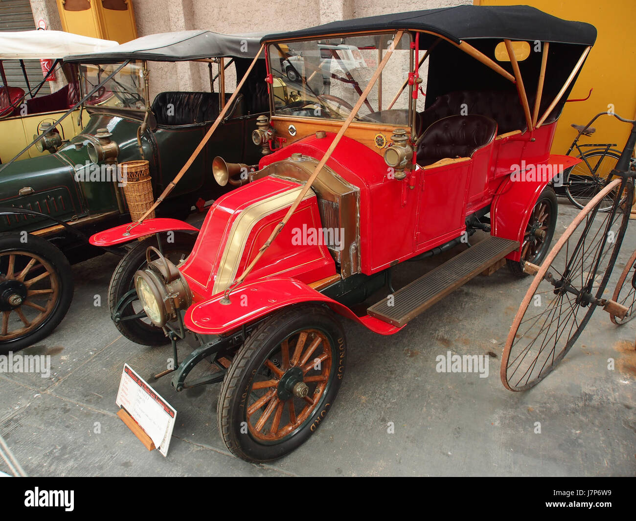 1910 Renault AX, 2 cylinders, 1060 cm3, 6cv pic3 Stock Photo