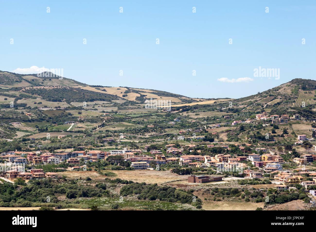 Northern Sardinia - Stock Image
