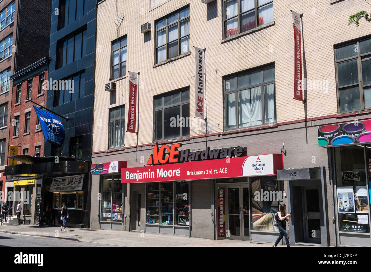 Ace Hardware Store in Greenwich Village, NYC, USA - Stock Image