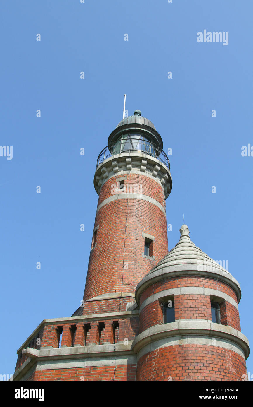 sightseeing keel emblem building of historic importance lighthouse tower Stock Photo