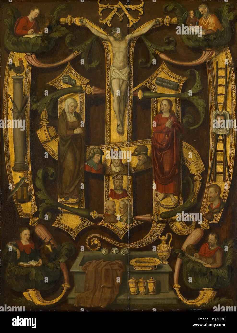 Arma Christi Rijksmuseum SK C 508 Stock Photo