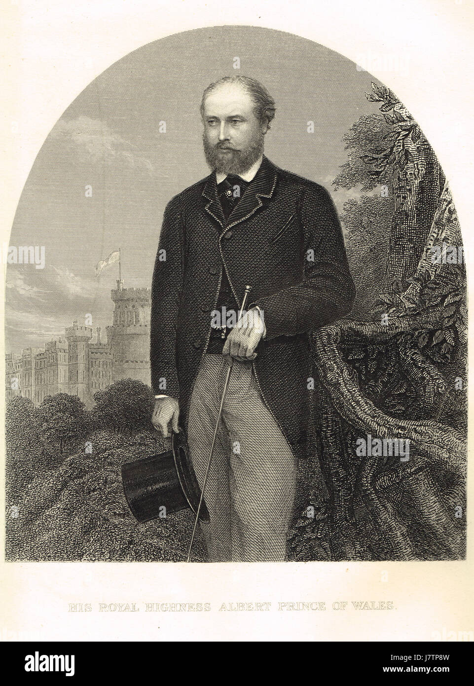 Albert, Prince consort & husband of  Queen Victoria - Stock Image