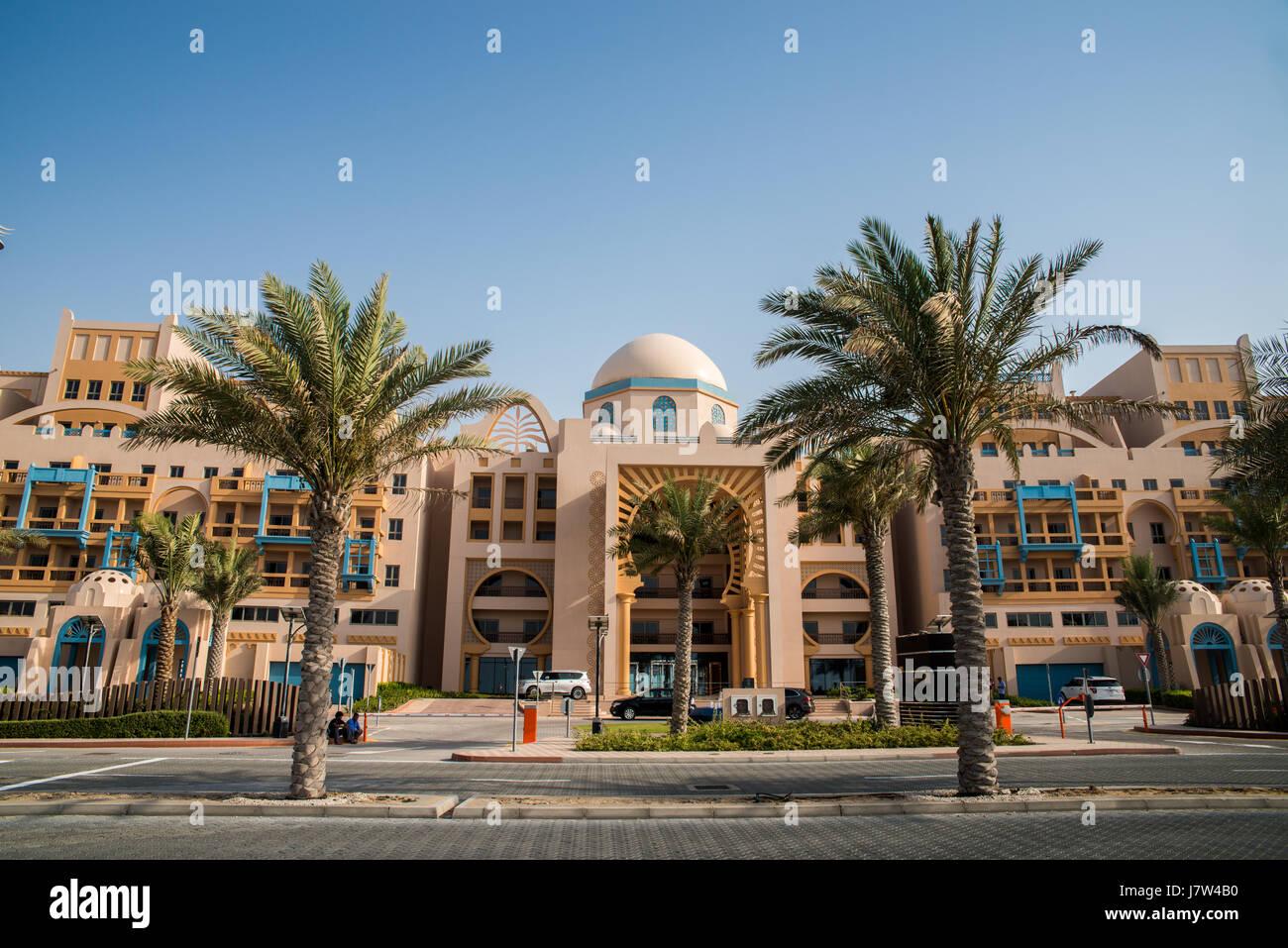 Luxury residence in Dubai, United Arab Emirates - Stock Image