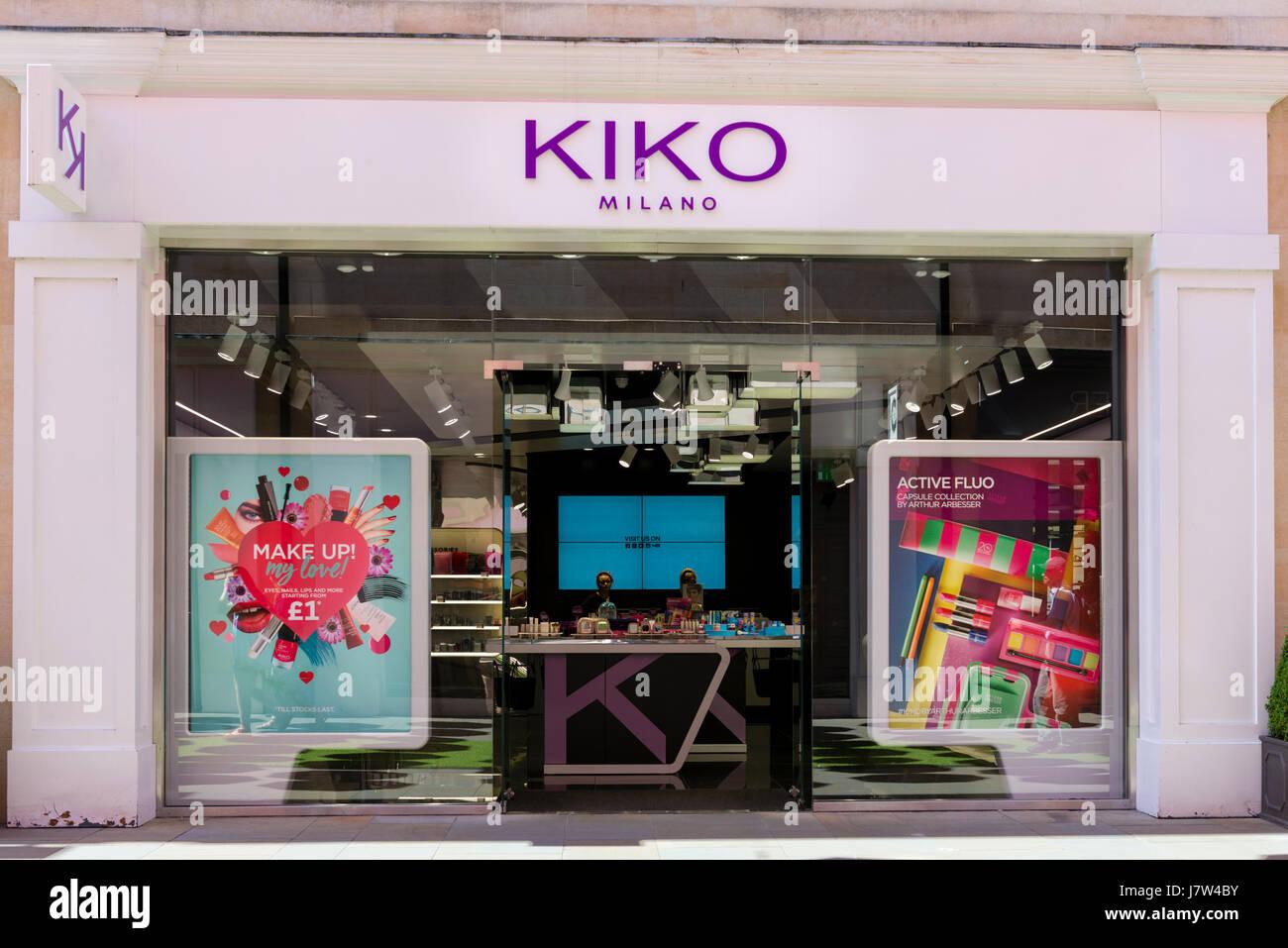 Kiko Milano store, UK. Stock Photo