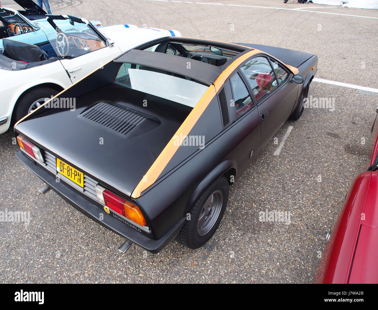 1978 lancia beta monte carlo pic1 stock photo: 142542243 - alamy