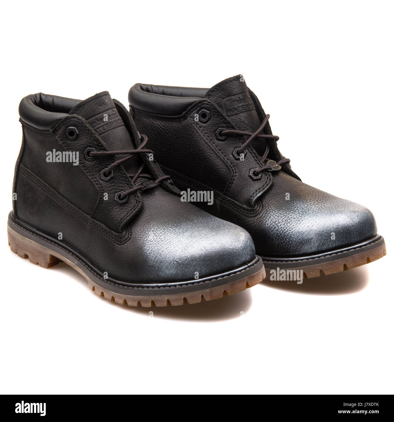 0c3ea6c6c830 Timberland Nellie Chukka Double Sole Waterproof Black Women s Leather Boots  - A12PK