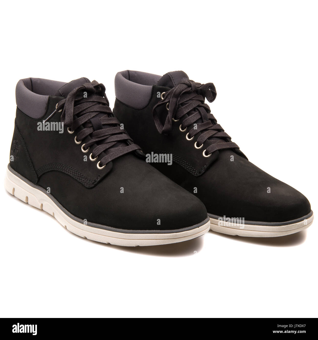 100% quality quarantee sneakers for cheap nice cheap Timberland Chukka Leather Black Men's Shoes - A146Q Stock ...