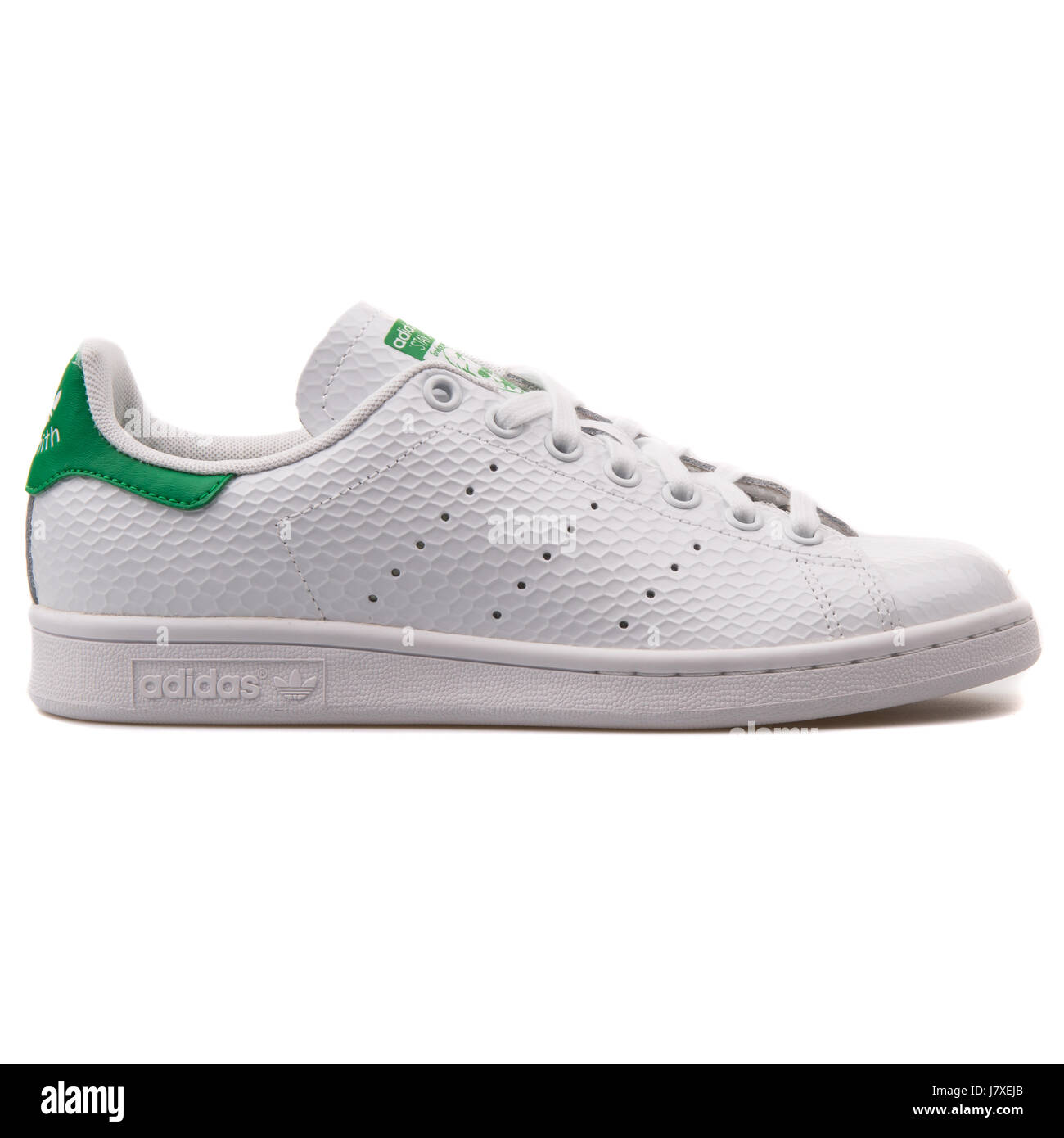 1cb2ce8a Adidas Originals Stan Smith W Women's White with Green Sneakers - B35443