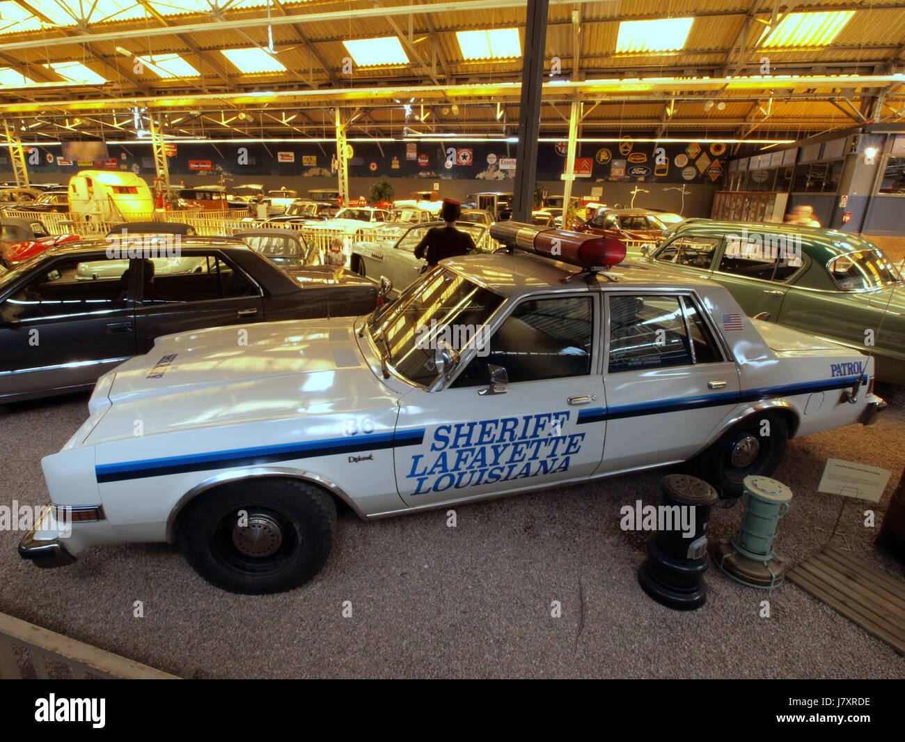 1981 Dodge Diplomat Police Car Sheriff Lafayette Louisiana Pic3