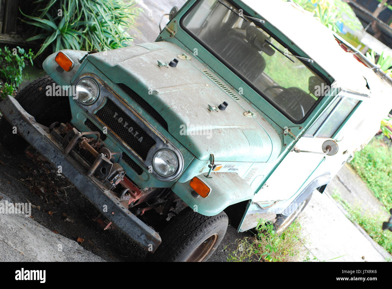 Toyota Land Cruiser Photo Stock Photos 1973 Interior Fj40 Image