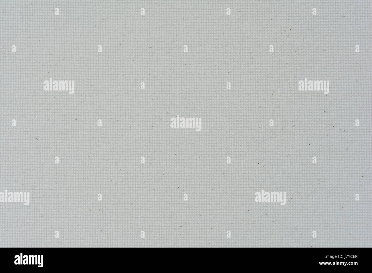 Canvas texture background white - Stock Image