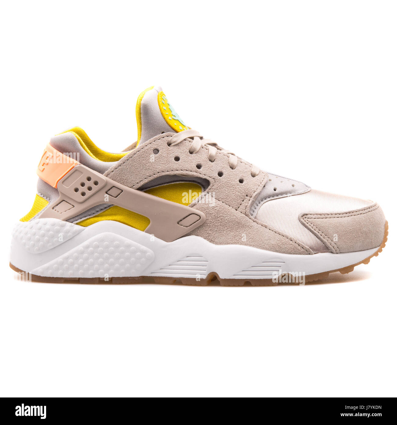 new product 9c954 1d5af Nike WMNS Air Huarache Run PRM Women s Metallic Silver Running Sneakers -  683818-002