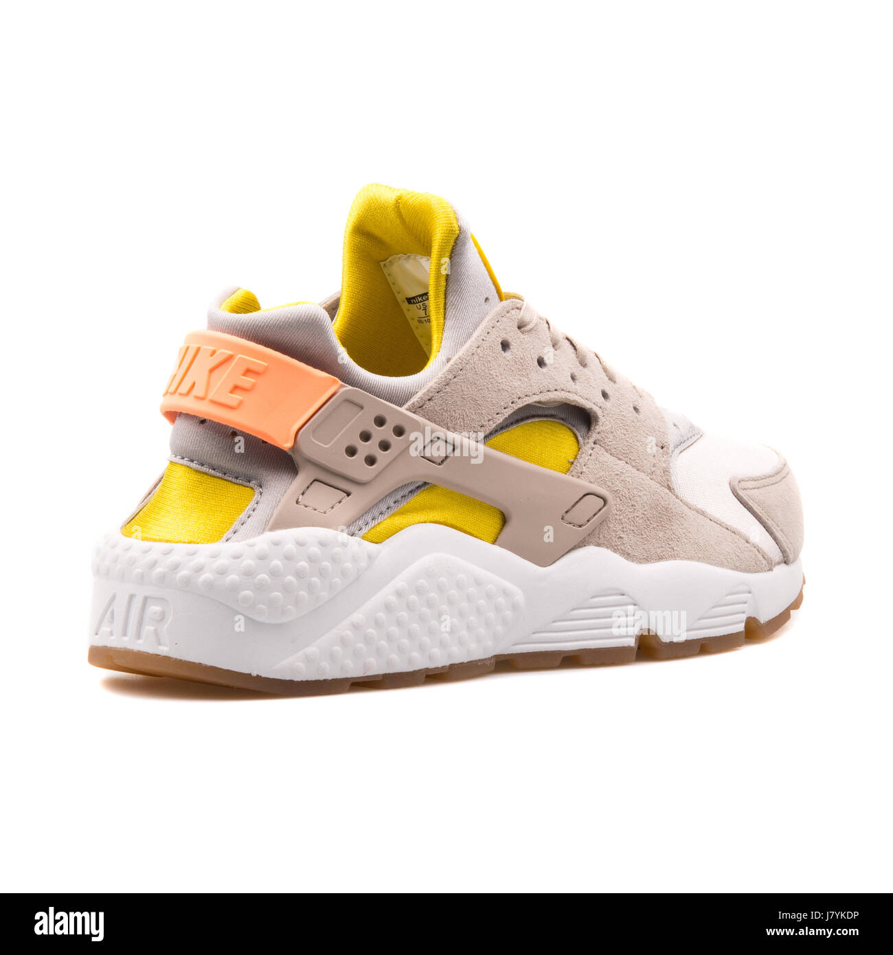 new product f3b93 df76b Nike WMNS Air Huarache Run PRM Women s Metallic Silver Running Sneakers -  683818-002