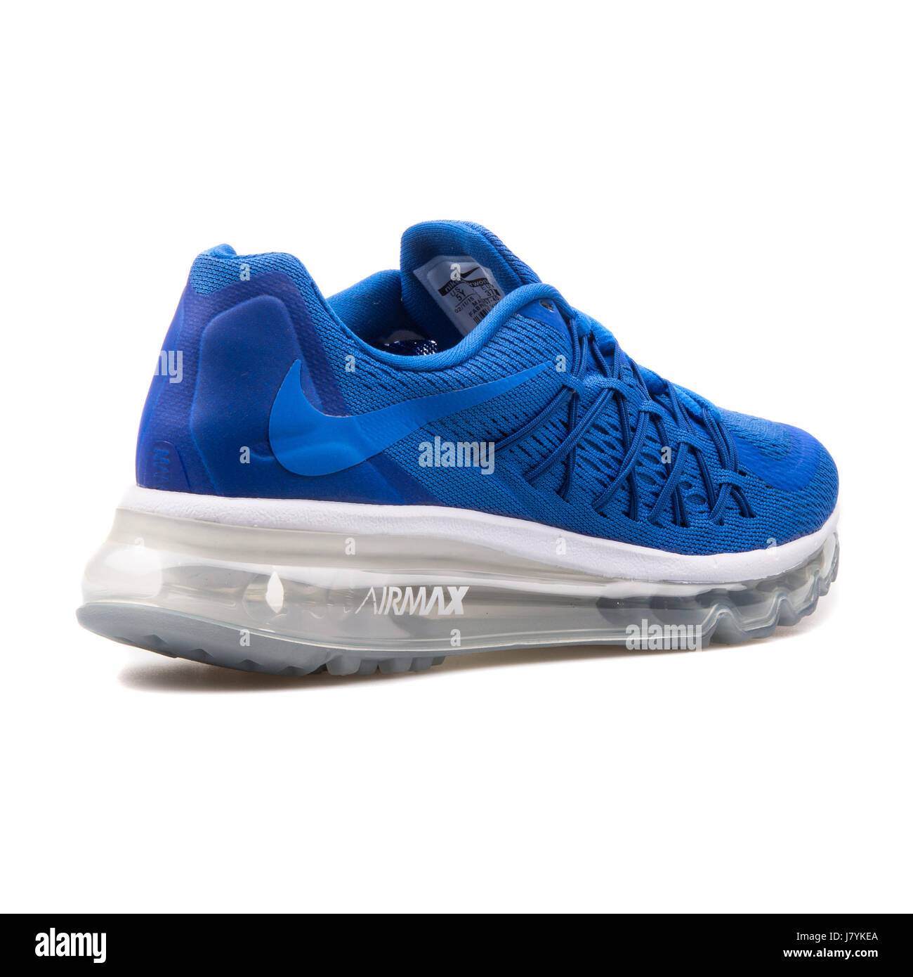 new style e16bd 72618 Nike Air Max 2015 (GS) Youth Blue Running Sneakers - 705457-402