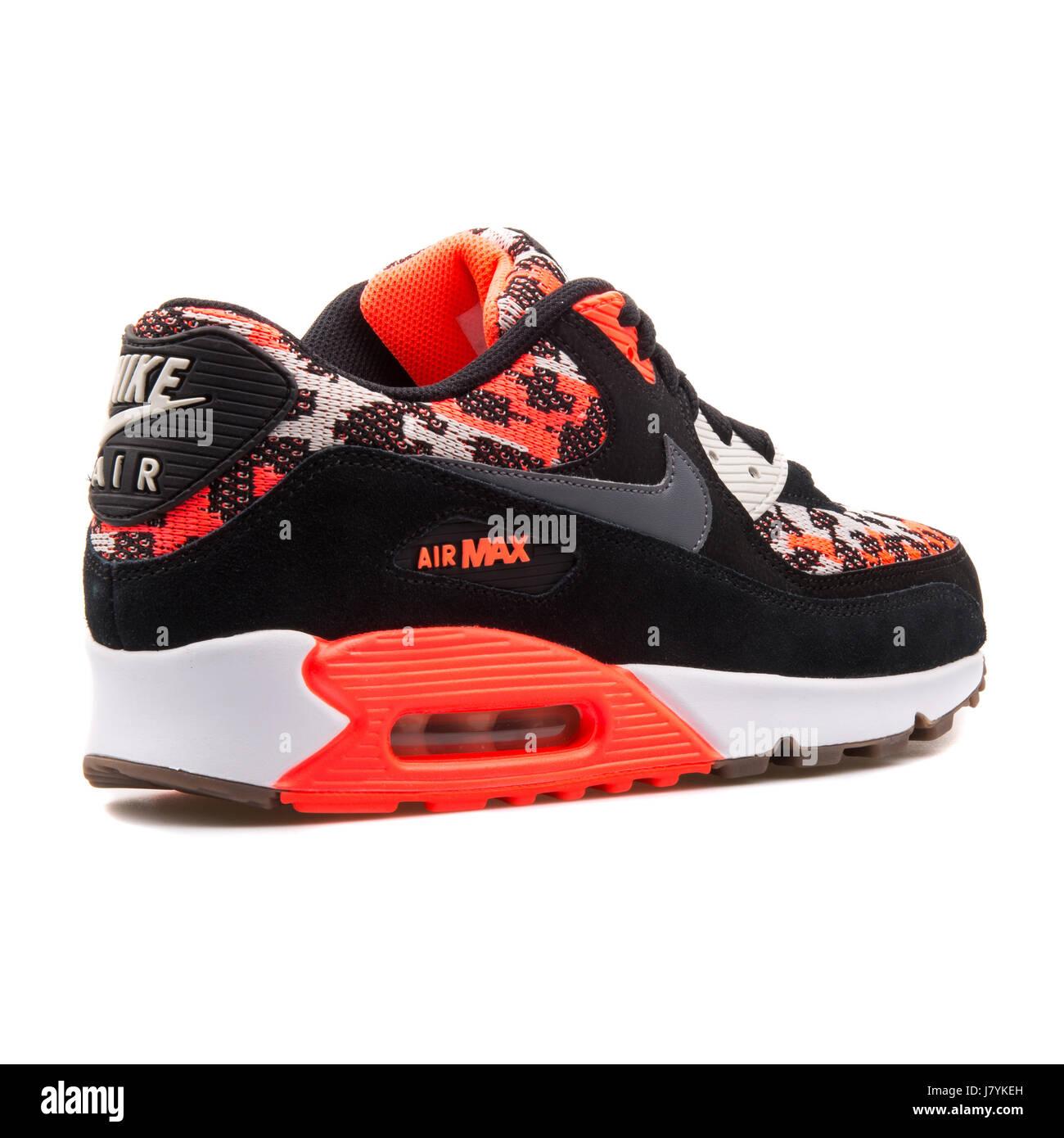 27e2cdf0 Nike Air Max 90 PA Hot Lava Pattern Black Sneakers - 749674-800 ...