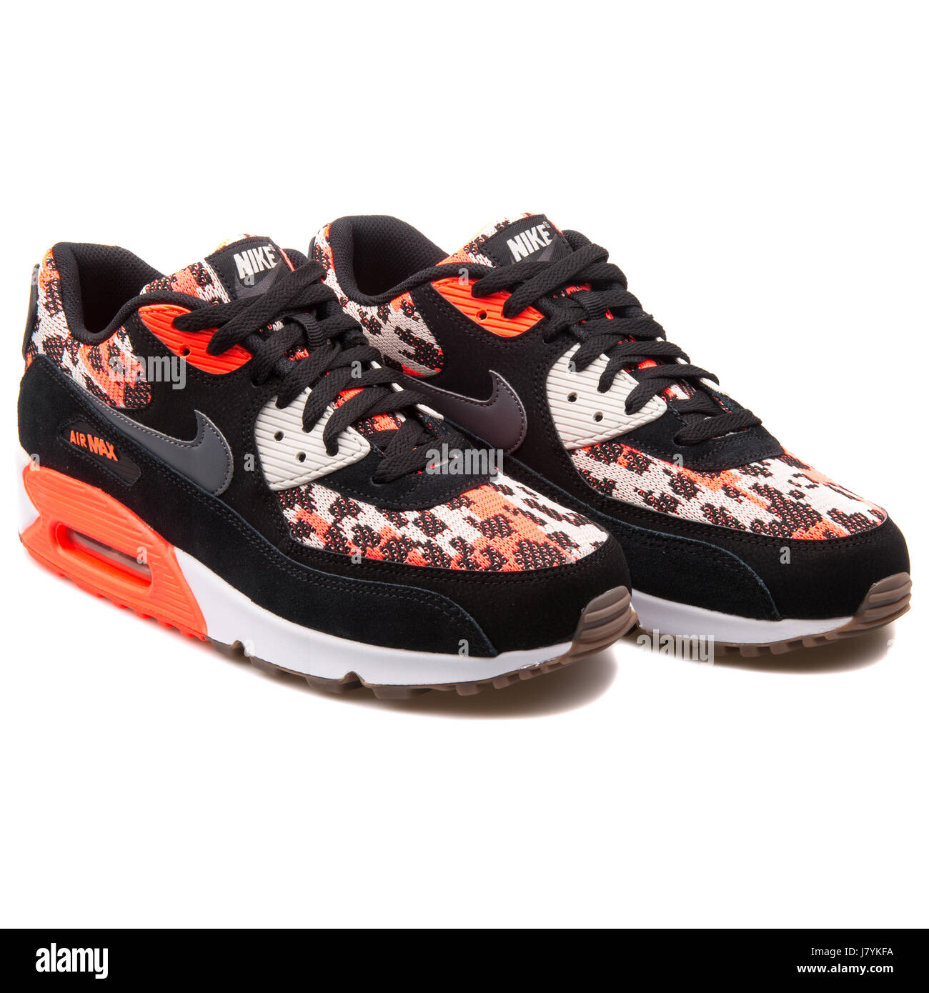 Nike Air Max 90 PA Hot Lava Pattern Black Sneakers 749674