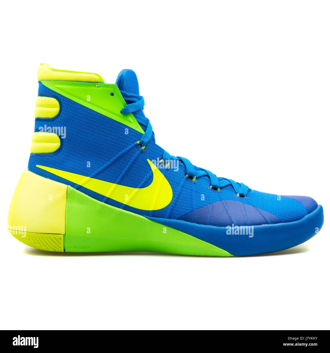 Nike Hyperdunk 2015 Men's Blue Yellow
