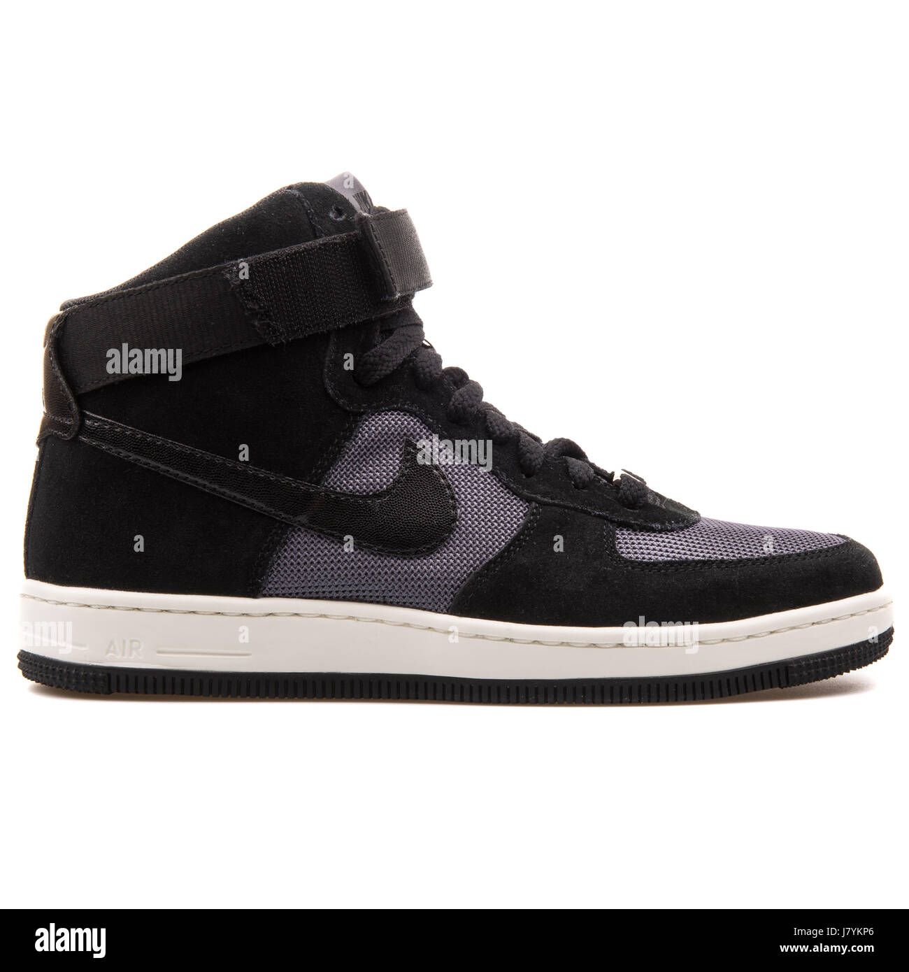 huge selection of 42eb4 f1248 Nike W AF1 Ultra Force Mid Women's High Black Sneakers ...