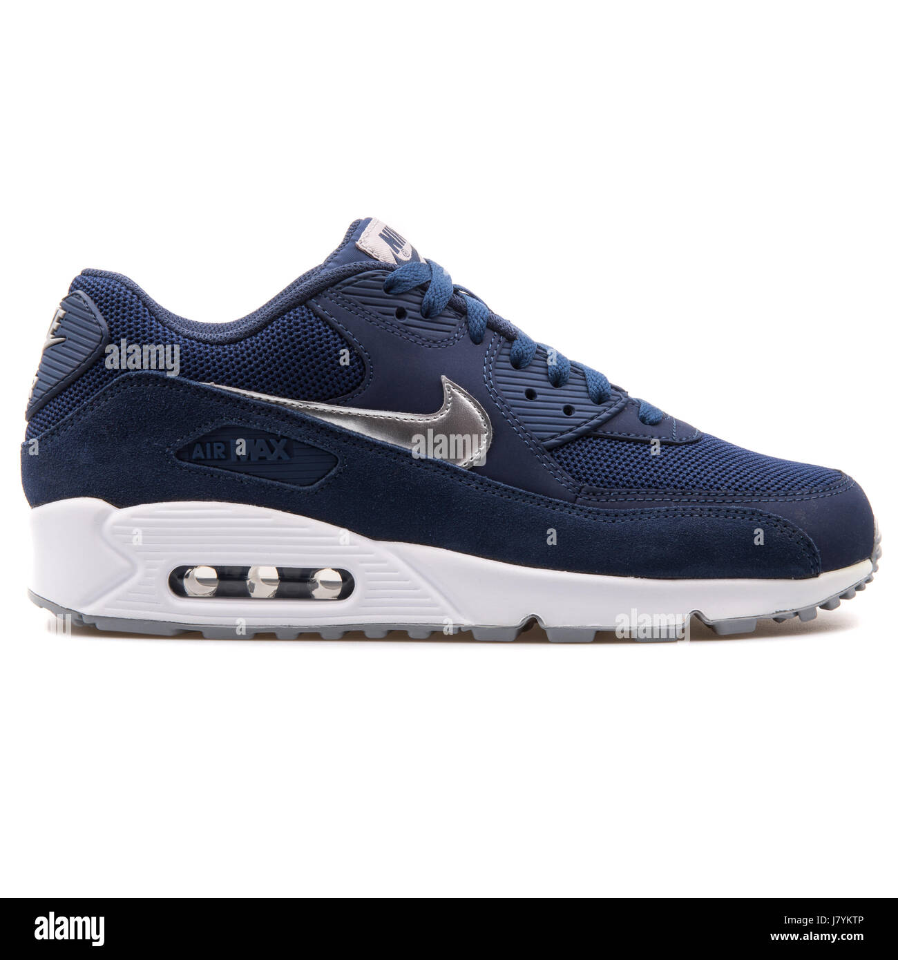 new arrival 7c9ca 634fc Nike Air Max 90 Essential Blue Men Sports Sneakers - 537384-411